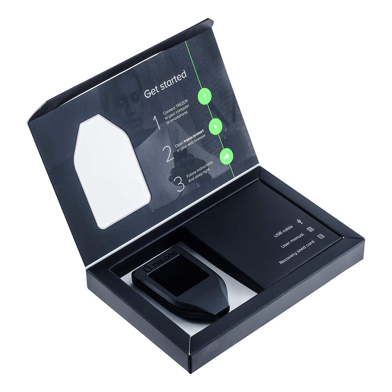 Trezor Model T - Cryptocurrency Hardware Wallet ...